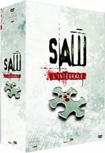 COFFRET DVD NEUF HORREUR THRILLER : L'INTEGRALE DES 6 FILMS SAW : 1 2 3 4 5 6