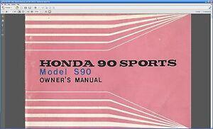 honda s90 owners manual pdf maintenance honda 90 super ebay rh ebay com Honda S65 honda s90 owners manual forum