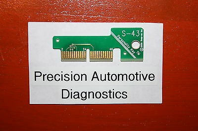 S-64 MERCEDES BENZ SNAP ON TOOL MT2500 SOLUS ETHOS MODIS SCANNER PERSONALITY KEY