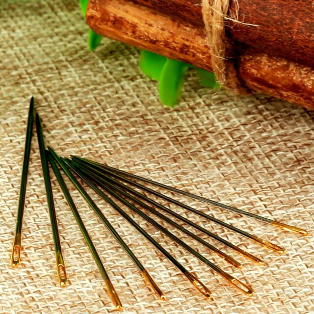 10pcs Leather Canvas Sewing Stitching Needles DIY Crafts Handmade Tools Sets HOT