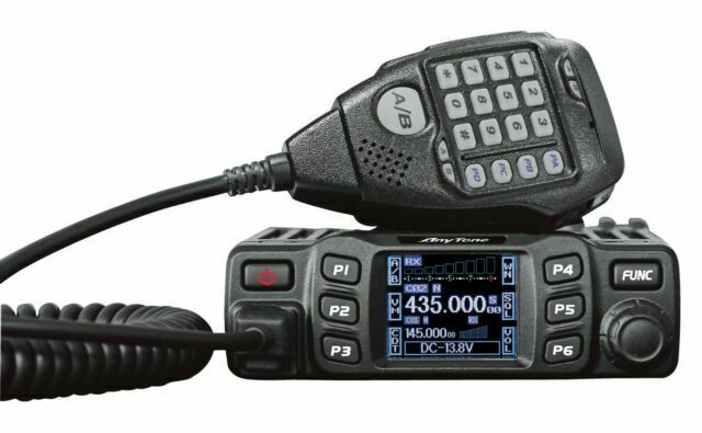Anytone At 778uv Dual Band Transceiver Mobile Vhf Uhf Two Way Amateur Radio For Sale Online Ebay