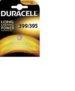 1-Pile-D395-399-AG7-DURACELL-bouton-oxyde-d-argent