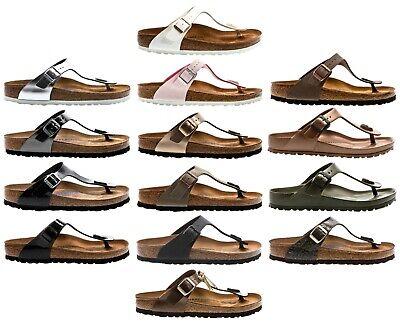 Birkenstock Gizeh SBF BF NL Women Sandals Damen Sandalen Sandaletten | eBay