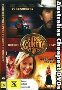 Pure-Country-Pure-Country-2-The-Gift-DVD-NEW-FREE-POST-IN-AUSTRALIA-REGION-ALL