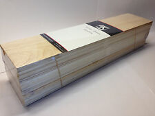 BALSA WOOD Bundle GIGANTE 3 x 450mm L X 100MM W x 100mm h-mixed Taglie tracciate POST