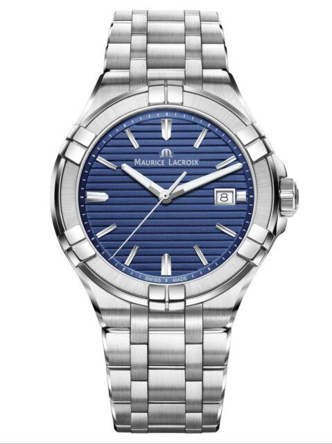 New Maurice Lacroix Aikon Stainless Seel Quartz Men's Watch AI1008-SS002-431-1