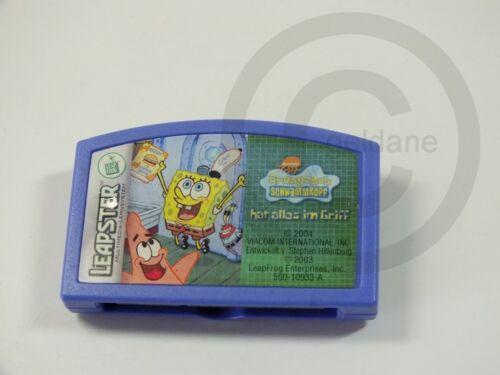 gebraucht aber GUT !!! !! LEAPSTER LERNSYSTEM SPIEL Spongebob