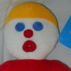 MR-BILL-stuffed-plush-character-toy-authentic-sugarloaf-13-034-NWT-with-tags-SNL