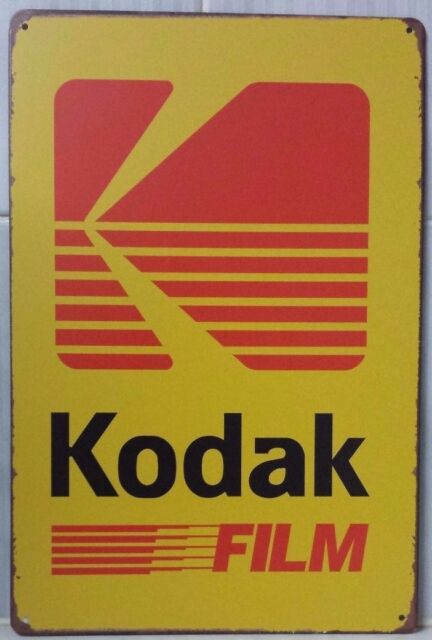 KODAK Garage Retro Vintage Metal Tin Sign Rustic Look .. MAN CAVE AU SELLER