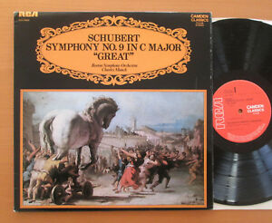 CCV-5054-SCHUBERT-Symphony-No-9-034-GRAND-034-Charles-Munch-Boston-RCA-Stereo-Presque-comme-neuf-EX