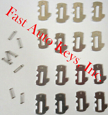 NEW GM OEM Door Lock Cylinder TUMBLER /& SPRINGS SET 19120148 TO 19120151