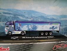 1:87  Schuco (Germany) MB ACTROS  V8 KOFFERSATTELZUG solden limited edition