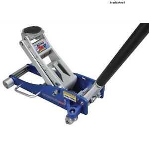 Details About Hydraulic Floor Jack 3 Ton Quick Pump Aluminum Steel Low Profile Car Lift Tools