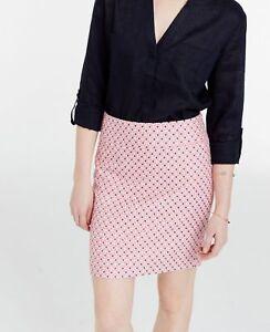 c82972c454ed0c Ann Taylor - Size 14 Pink Diamond Jacquard Mini Skirt $79.00 (611H ...