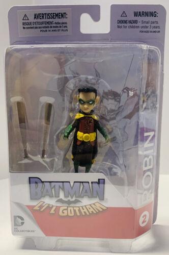 Batman Li/'l Gotham 4 PACK Action Figure Set Robin,Joker,Harley DMG PKG