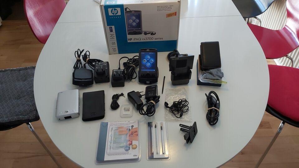 HP Ipaq Multimedia, RX 3715, Samsung S3C 2440 Ghz