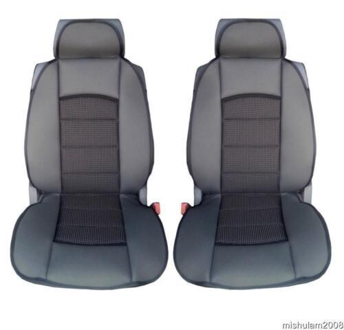 2x Sitzbezüge Schonbezüge Schwarz Premium Stoff für Renault Toyota Peugeot Fiat