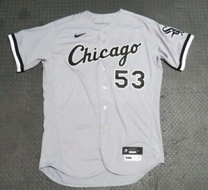 2020 Drew Anderson Chicago White Sox Game Issued Worn MLB Baseball Jersey!