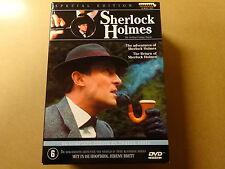 8-DISC SPECIAL EDITION DVD BOX / SHERLOCK HOLMES - SERIE 1 & 2