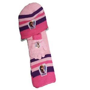 economico in vendita acquista autentico design senza tempo Dettagli su Set sciarpa cappello e guanti Bambina Frozen Originale Taglia  Unica A/FROZES9510