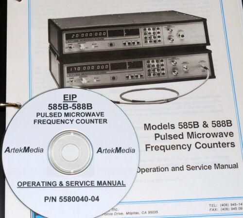EIP 585B 588B operativo de contador de frecuencia /& Manual De Servicio