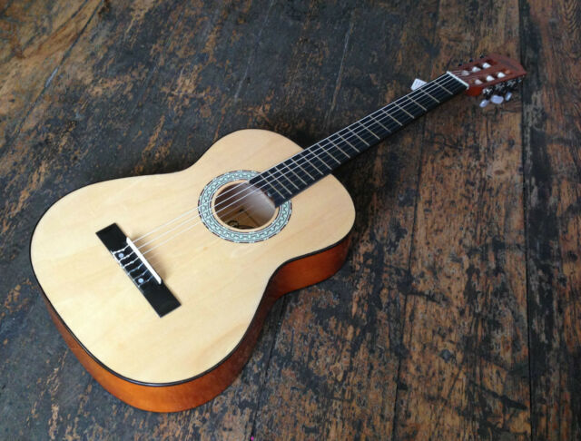 Artisan Classical Nylon Strung Acoustic Guitar 3/4 Full Size With Truss Rod!