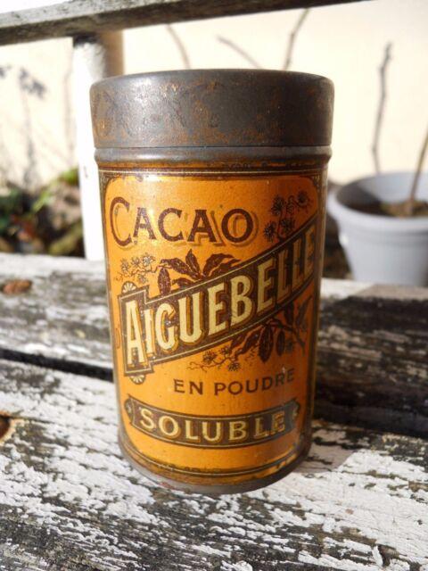 """2/ Ancienne petite boite publicitaire """" Cacao Aiguebelle """""""