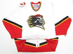 cheap for discount 9ac41 0f681 Details about OMAHA AK-SAR-BEN KNIGHTS AUTHENTIC AHL WHITE PRO REEBOK 6100  JERSEY SIZE 54