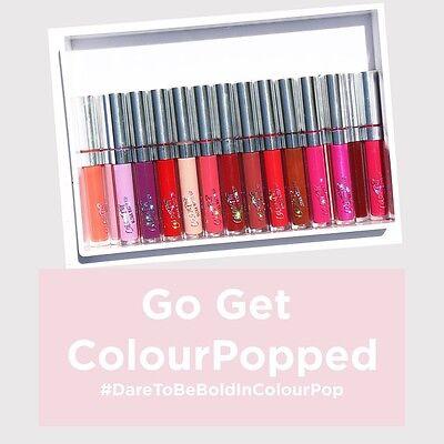 Colourpop Ultra Matte Lip Liquid Lipsticks Choose Shade BNIB Colour pop