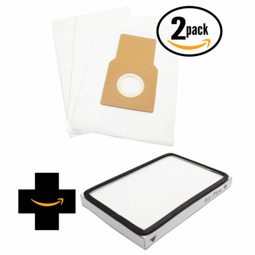 S300 6 Vacuum Bags /& 1 EF1 Filter for Miele S170i S200 S176 S184
