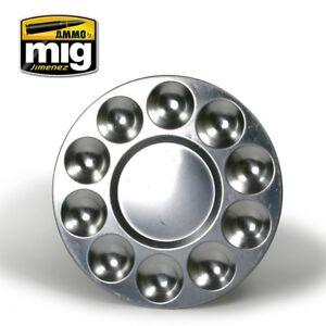 Ammo-of-Mig-A-MIG-8009-Aluminium-Palette-10-wells