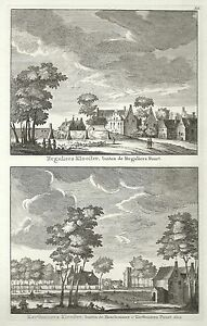 Antique-map-Reguliers-Klooster-Karthuizers-Klooster