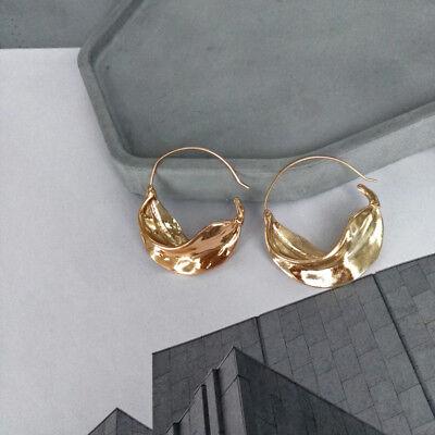 Boucles d/'Oreilles Dormeuse Argenté Gros Bateau Tortue Metal Retro Simple DD11