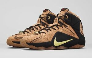 d5d1d1c0ee96 Nike LeBron 12 XII EXT King s Cork Size 14. 768829-100 kyrie bhm ...