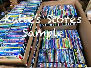 200-Kids-DVD-LOT-WHOLESALE-ASSORTED-Children-039-s-Movies-amp-Tv-Shows-Disney-Included