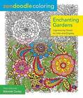 Zendoodle Coloring: Enchanted Gardens by Nikolett Corley (Paperback, 2015)