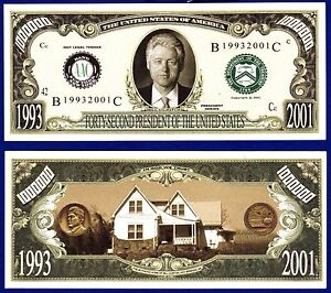 1 Novelty U.S Army Dollar Bill  with clear protector sleeve -A