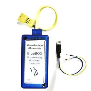 Mercedes BlueBOX Simulator Sitzbelegungsmatte Airbag SRS Sensor C-Klasse W203