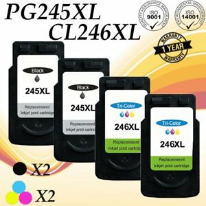 3 PK CL246XL COLOR Ink for Canon PIXMA iP2820 MG2420 MG2520 MX490 MG2450 MX495