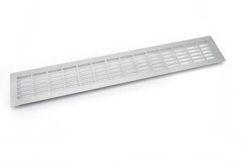 Rejilla de ventilacion para cocina en aluminio superficie de trabajo 480x80mm
