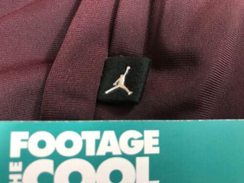 Burgundy Air 3xl Navy Nike Jordan Chaqueta de 5 bordado entrenamiento Nwt con logo Sneaker UaYavq7