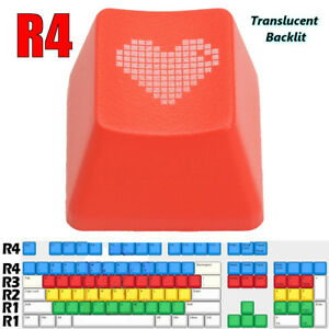 Red-Heart-Keycap-ABS-Translucent-Backlit-Mechanical-Keyboard-Keycaps-for-R4