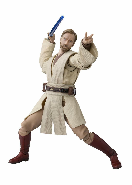 Bandai S.H. Figuarts Figura De Obi-Wan Kenobi (Estrella Wars  la venganza de los Sith)