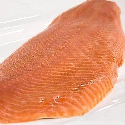 Schottischer Räucherlachs  Lachs ganze Seite ungeschnitten, ca.1,4 kg