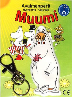 Moomin The Snork Maiden Original Finland Soft Keychain NIB