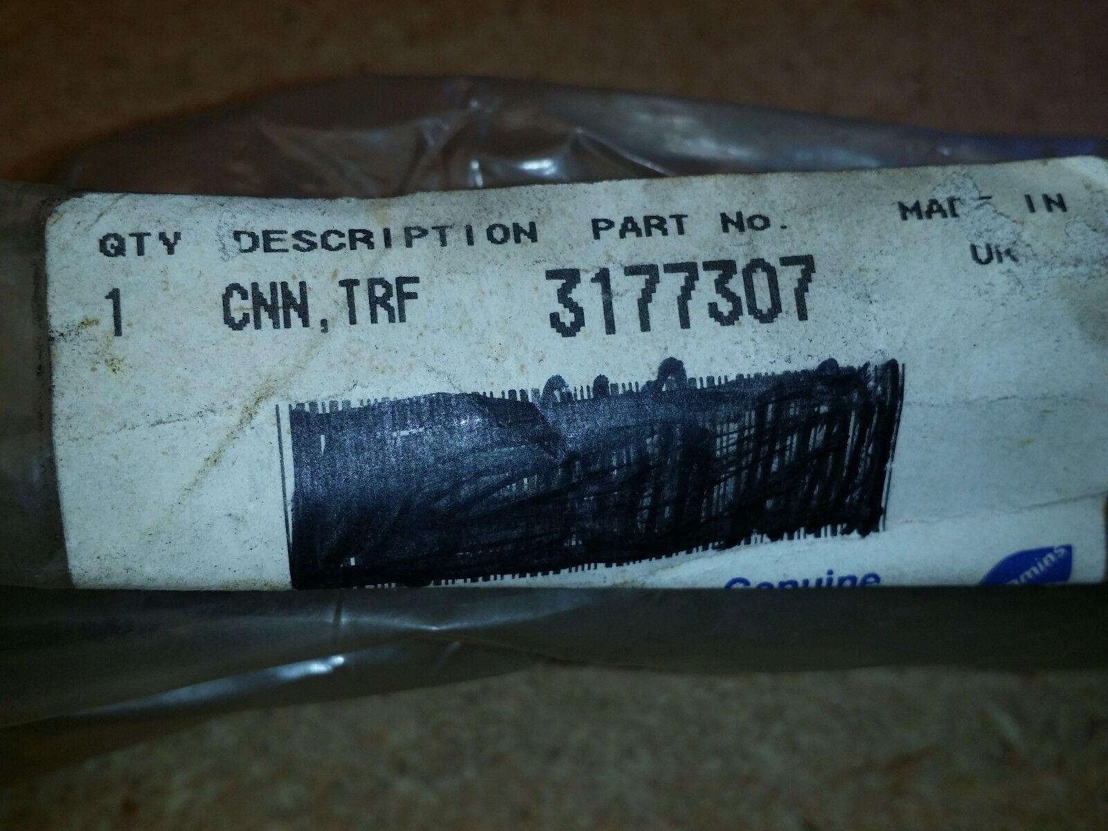 Cummins OEM part 3177307 Transfer tube