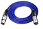 XLR-Cable-Microphone-Lead-Male-to-Female-XLR-Black-Blue-Red thumbnail 3