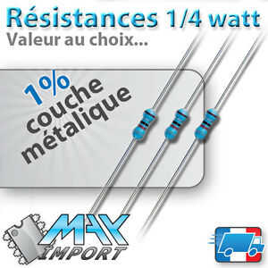 Lots-Resistances-1-4-Watt-0-25-Lots-multiples-prix-degressif-Arduino