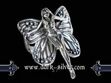 Silberring - Butterfly Fairy - 925 Sterling Silber Größe: 18/58