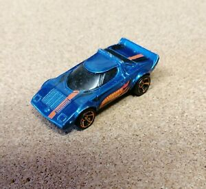 Hot Wheels Lancia Stratos Good Play Worn Condition With Paint Chips.